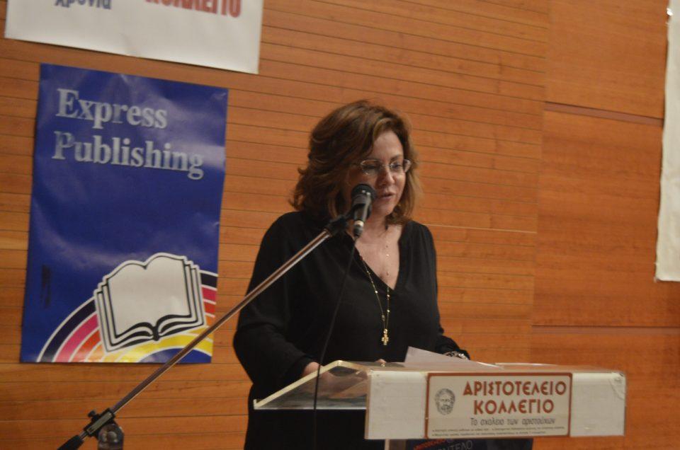 """Η ευρωβουλευτής Μ. Σπυράκη απαντά στους έφηβους """"διπλωμάτες"""""""