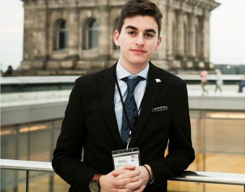 O μαθητής μας Γιώργος Μούργκος με πλήρη υποτροφία στο Yale, Η.Π.Α.