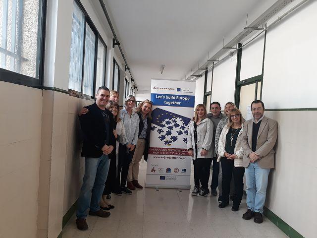 1st TPM Erasmus+ Let's Build Europe Together