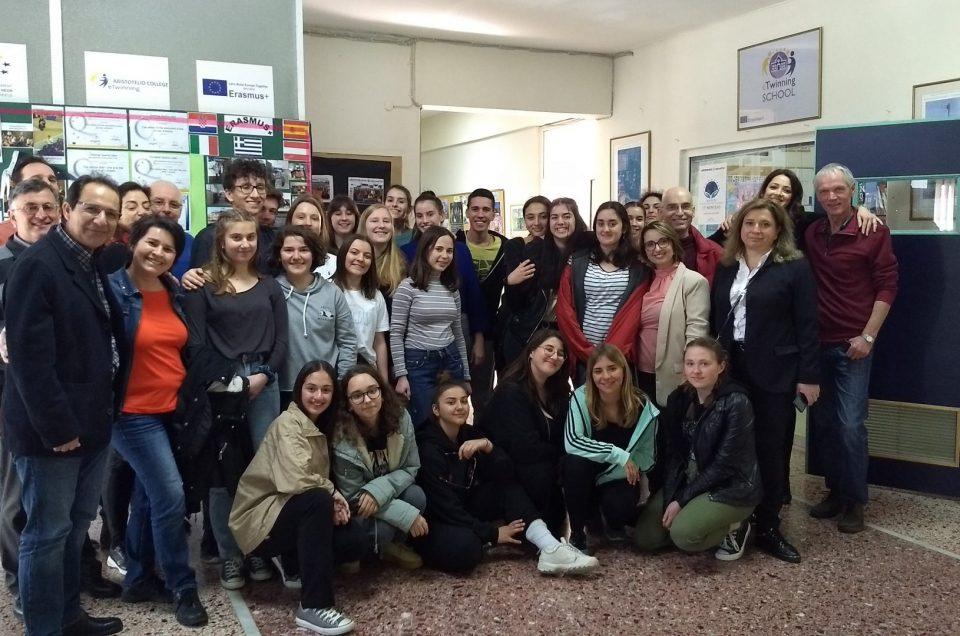 Let's Stop Bullying together – Φιλοξενία στο Αριστοτέλειο Κολλέγιο με το Erasmus+